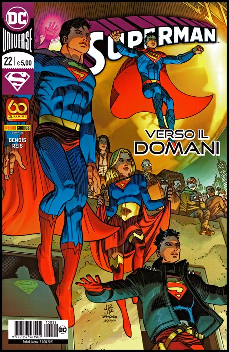 SUPERMAN #    22