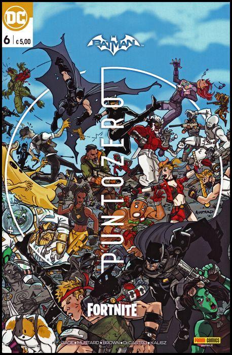 BATMAN/FORTNITE: PUNTO ZERO #     6 - PREMIUM VARIANT
