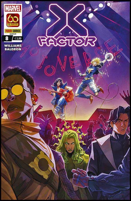 X-FACTOR #     8