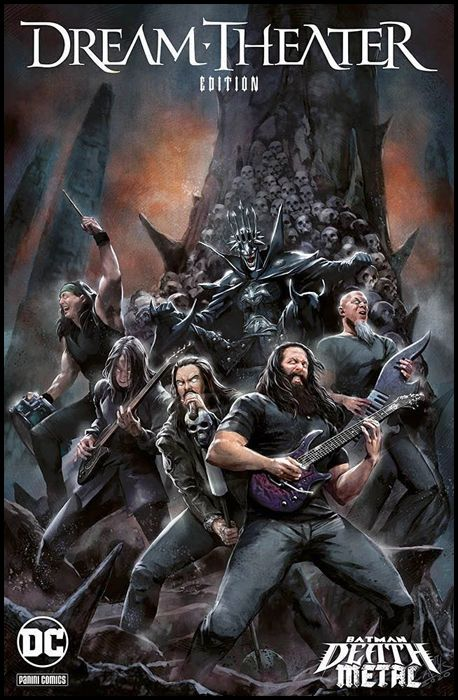 DC CROSSOVER #    12 - BATMAN: DEATH METAL 6 - VARIANT BAND EDITION - DREAM THEATER
