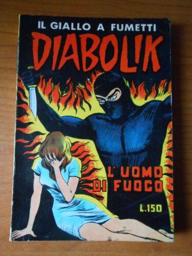 DIABOLIK ORIGINALE 2A SERIE #    18: L'UOMO DI FUOCO