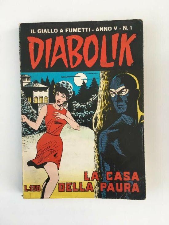 DIABOLIK ORIGINALE ANNO  5 #     1: LA CASA DELLA PAURA