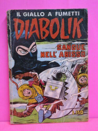 DIABOLIK ORIGINALE 2A SERIE #    22: SANGUE NELL'ABISSO