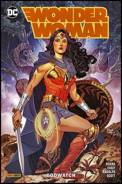DC REBIRTH COLLECTION - WONDER WOMAN #     4: GODWATCH