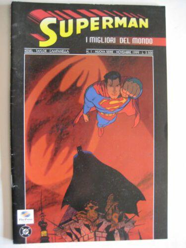 SUPERMAN 2A SERIE 1/6  I MIGLIORI DEL MONDO COMPLETA