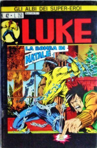 GLI ALBI DEI SUPER-EROI #    42 - LUKE 4: LA BOMBA DI NATALE