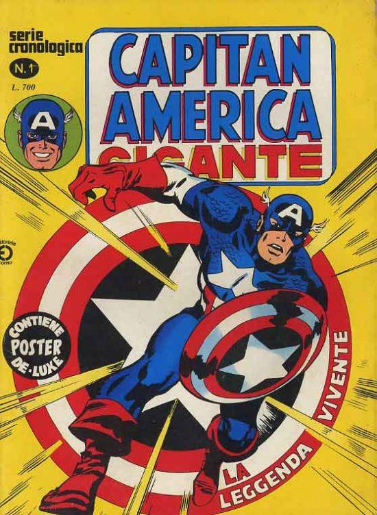 CAPITAN AMERICA GIGANTE #     1: LA LEGGENDA VIVENTE - NO POSTER