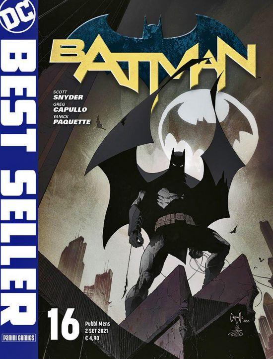 DC BEST SELLER #    16 - BATMAN DI SCOTT SNYDER & GREG CAPULLO 16