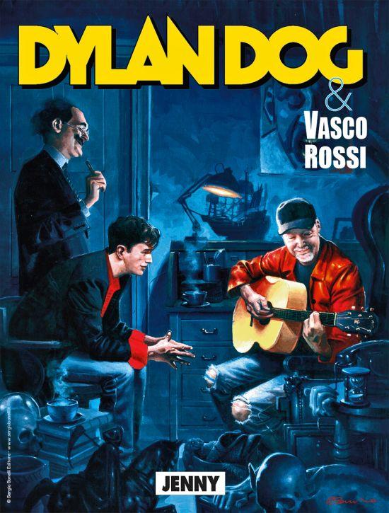 DYLAN DOG ORIGINALE #   420: JENNY - VASCO ROSSI