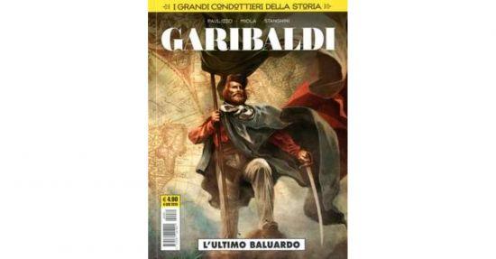 COSMO SERIE GIALLA  - I GRANDI CONDOTTIERI DELLA STORIA 1/4 -  (GARIBALDI+NAPOLEONE +NELSON+CESARE )