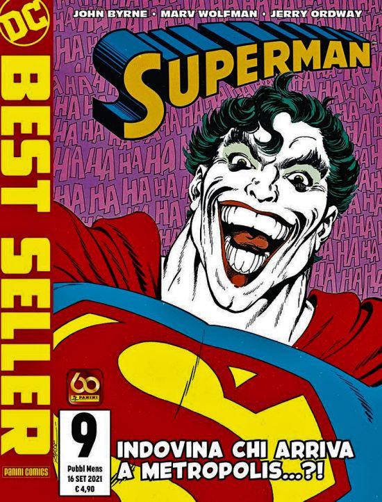 DC BEST SELLER NUOVA SERIE #     9 - SUPERMAN DI JOHN BYRNE 9