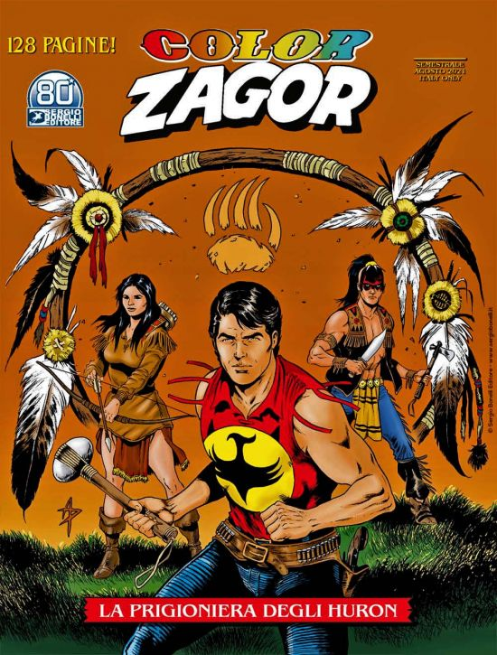 COLOR ZAGOR #    13: LA PRIGIONIERA DEGLI HURON