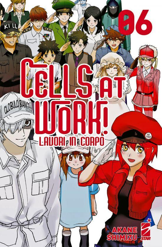 TARGET #   112 - CELLS AT WORK! - LAVORI IN CORPO 6