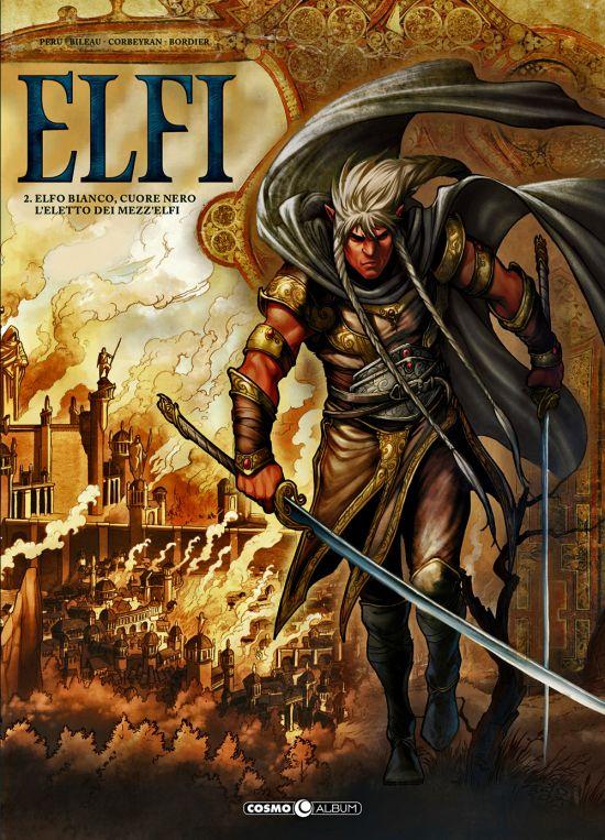 COSMO ALBUM #    15 - ELFI 2: ELFO BIANCO, CUORE NERO/L'ELETTO DEI MEZZ'ELFI