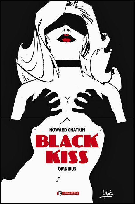 BLACK KISS OMNIBUS EDIZIONE LIMITATA CON STAMPE