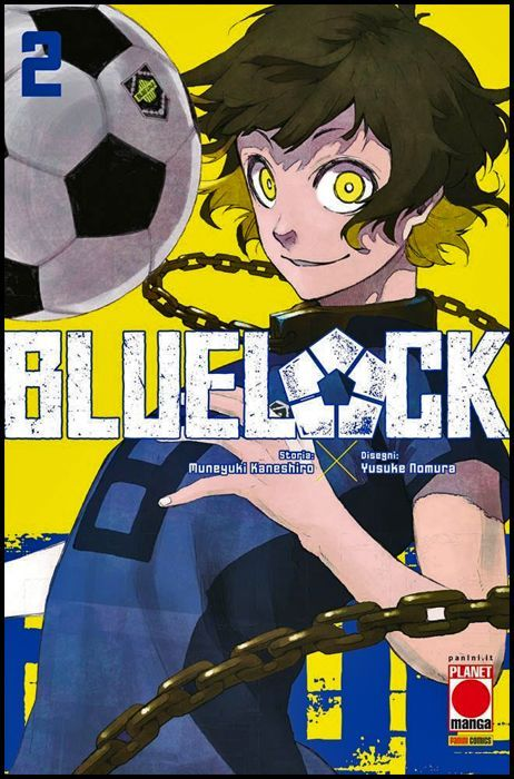 BLUE LOCK #     2 CON CARTELLINI