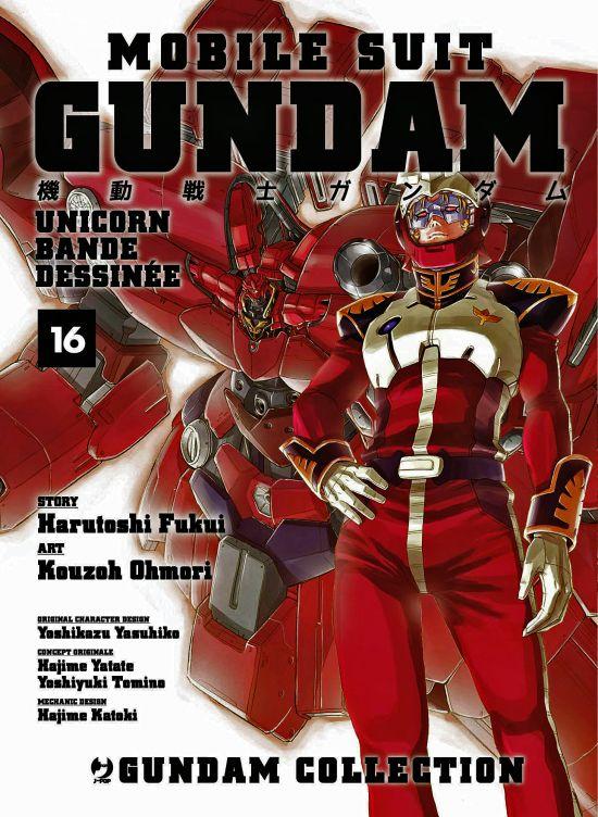 GUNDAM COLLECTION - MOBILE SUIT GUNDAM UNICORN BANDE DESSINEE #    16