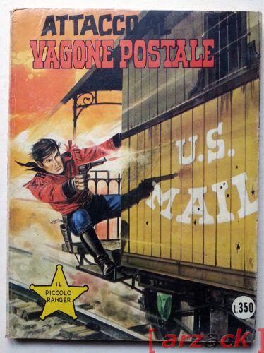 PICCOLO RANGER - COLLANA COW BOY #   161: ATTACCO AL VAGONE POSTALE