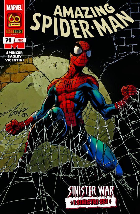UOMO RAGNO #   780 - AMAZING SPIDER-MAN 71 - SINISTER WAR