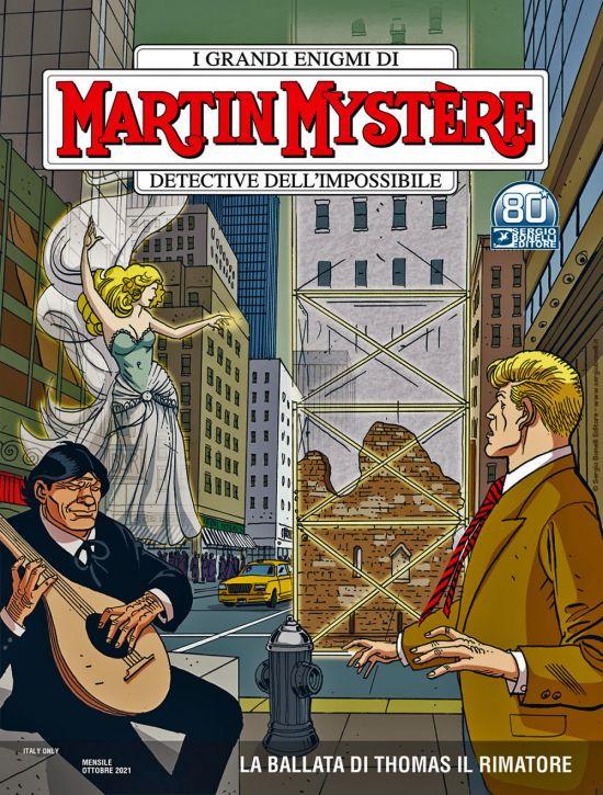 MARTIN MYSTERE #   380: LA BALLATA DI THOMAS IL RIMATORE