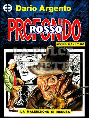 PROFONDO ROSSO #     6: LA MALEDIZIONE DI MEDUSA