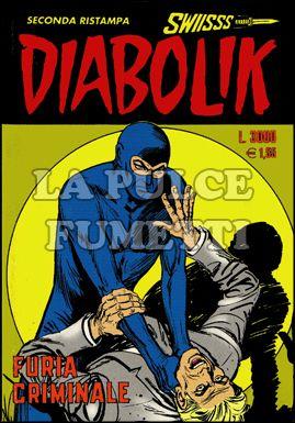 DIABOLIK SWIISSS #    70: FURIA CRIMINALE