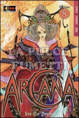 ARCANA #     8