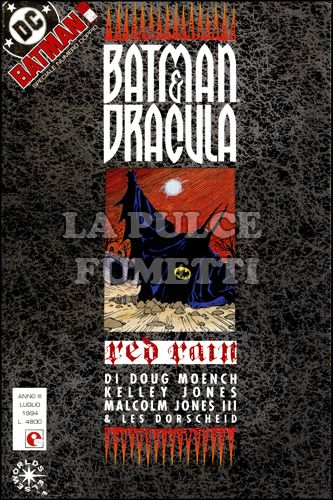 BATMAN #    41/42 - BATMAN E DRACULA - RED RAIN