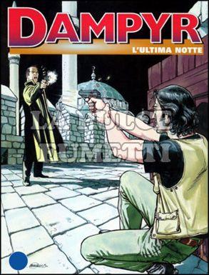 DAMPYR #    39: L'ULTIMA NOTTE