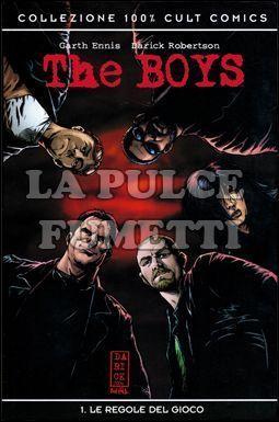 100% CULT COMICS - THE BOYS  1: LE REGOLE DEL GIOCO