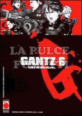 MANGA 2000 #    30 - GANTZ  6