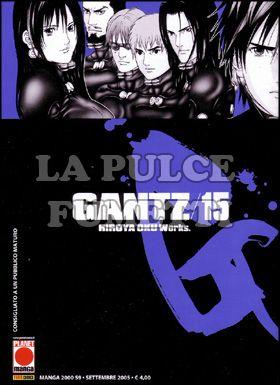 MANGA 2000 #    59 - GANTZ 15