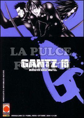 MANGA 2000 #    72 - GANTZ 18