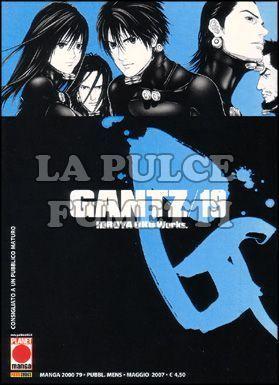 MANGA 2000 #    79 - GANTZ 19