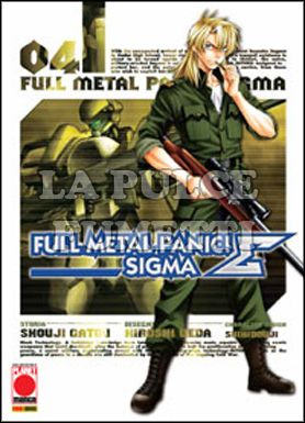 MANGA TOP #    89 - FULL METAL PANIC SIGMA  4