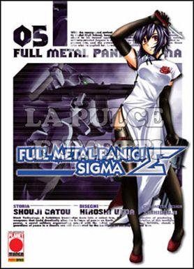MANGA TOP #    90 - FULL METAL PANIC SIGMA  5