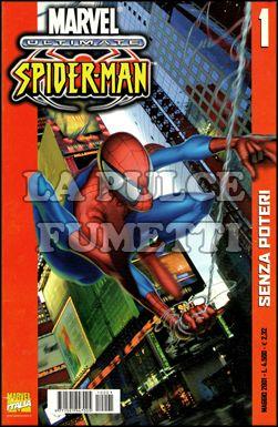 ULTIMATE SPIDER-MAN #     1: SENZA POTERI