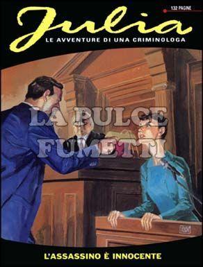 JULIA #    62: L'ASSASSINO E' INNOCENTE
