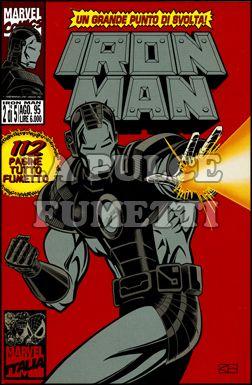 IRON MAN 1995 #     2: CENERE ALLA CENERE