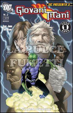 DC PRESENTA #     3 - GIOVANI TITANI  2 (DI 10) - UN ANNO DOPO