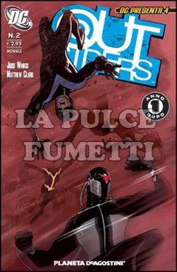 DC PRESENTA #     4 - OUTSIDERS  2 (DI 10) - UN ANNO DOPO