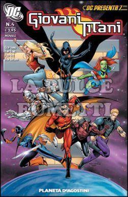 DC PRESENTA #     7 - GIOVANI TITANI  4 (DI 10)