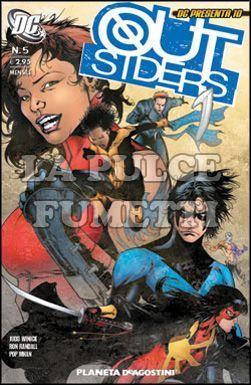 DC PRESENTA #    10 - OUTSIDERS  5 (DI 10)