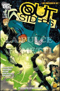 DC PRESENTA #    16 - OUTSIDERS  8 (DI 10)