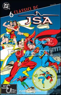 CLASSICI DC - JSA #     6