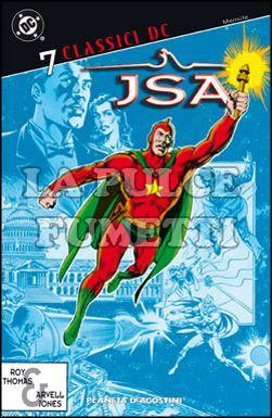 CLASSICI DC - JSA #     7