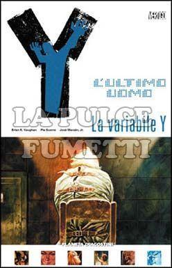 Y L'ULTIMO UOMO TP #    11: LA VARIABILE Y