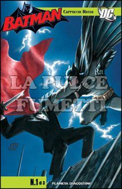 BATMAN: CAPPUCCIO ROSSO #     1