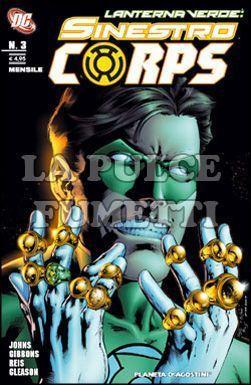 LANTERNA VERDE: SINESTRO CORPS #     3
