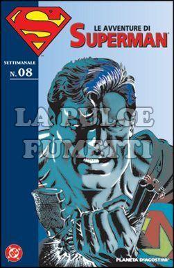 LE AVVENTURE DI SUPERMAN #     8